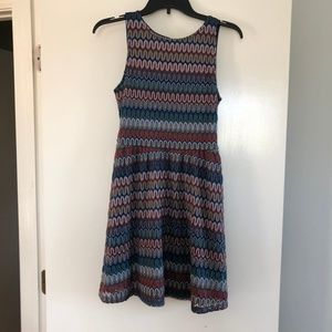 Striped Colorful A-Line dress